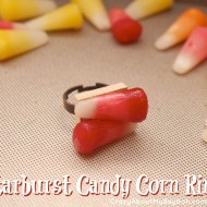 Starburst Candy Corn Jewelry | Halloween Crafts
