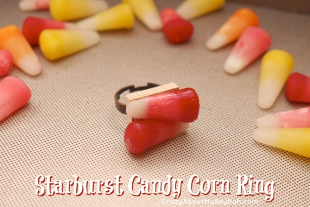 Starburst Candy Corn Halloween Crafts #StarburstCandyCorn
