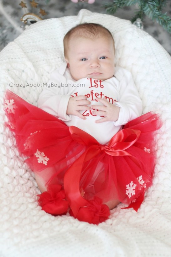 Chasing Fireflies Baby Christmas Outfit