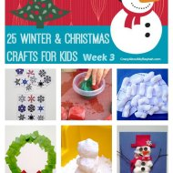 25 Winter and Christmas Crafts for Kids | Week 3