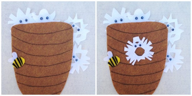 25 Winter and Christmas Crafts for Kids Felt Board Felt Board Craft #Toddlers #Preschoolers #Homeschool