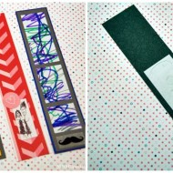Doodle Love Bookmarks | Valentine Craft for Kids