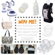 Giveaway: Products for Breast Milk Pumping Moms