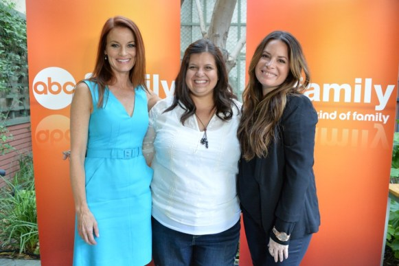 Meet the Moms from ABC Family! Holly Marie Combs Laura Leighton #ABCFamilyEvent