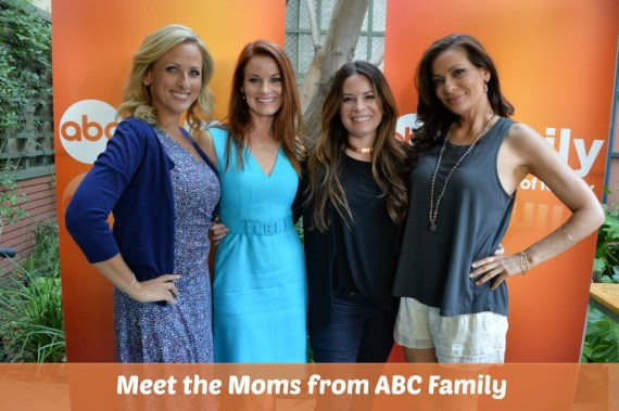 Meet the Moms from ABC Family! Marlee Matlin Constance Marie Holly Marie Combs Laura Leighton #ABCFamilyEvent