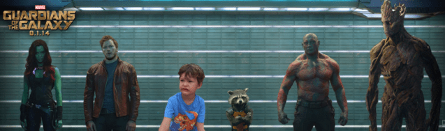 Put yourself in the Guardians of the Galaxy Lineup! #GuardiansoftheGalaxyEvent