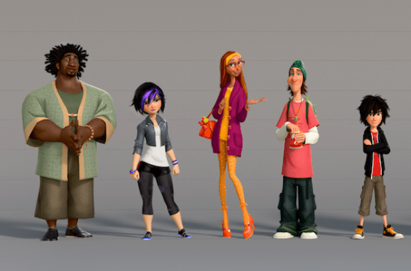 First Look at Big Hero 6 Characters