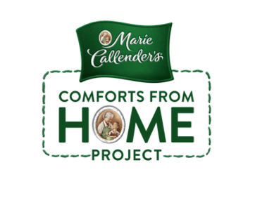 Marie Callender's Comfort from Home Project #ComfortsfromHome