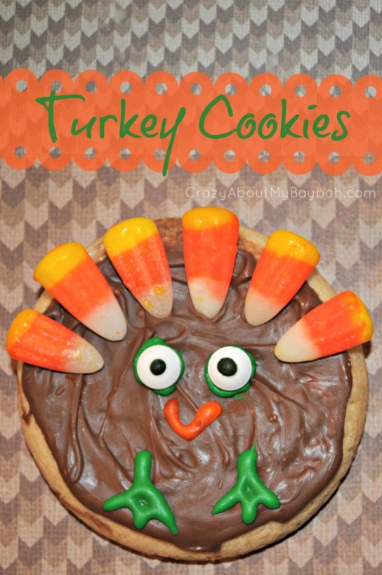 Turkeys Cookies - Thanksgiving Treats for Kids