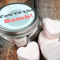 You're The Bomb Valentine Bath Bombs and Printable