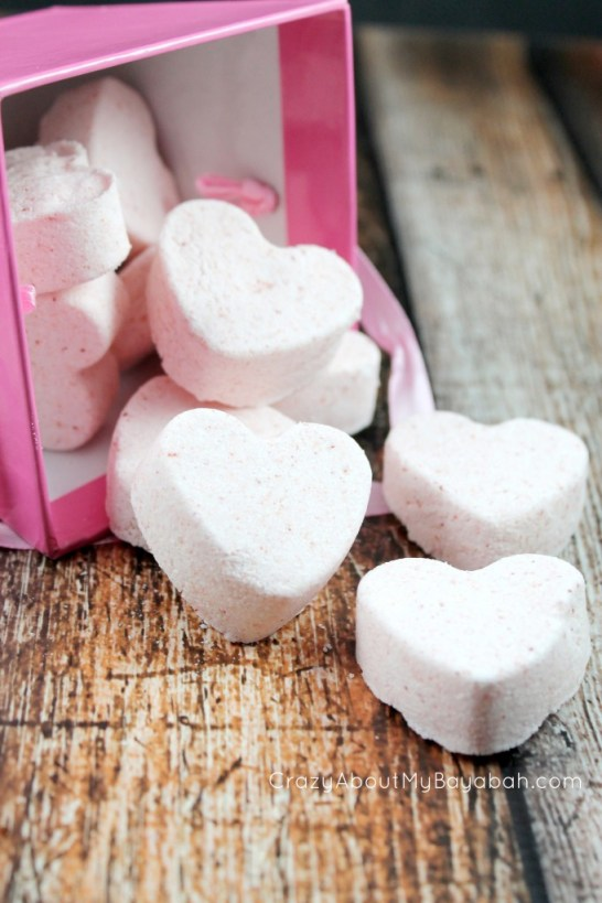 You're the Bomb Valentine Bath Bombs and Free Printable