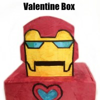 Make Your Own Iron Man Valentine Box
