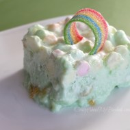 St. Patrick's Day Dessert | Green Dream Jello Salad Recipe