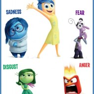Pixar Inside Out Craft Silhouette