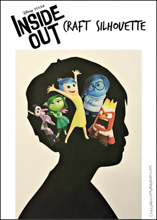 Inside Out Craft for Kids