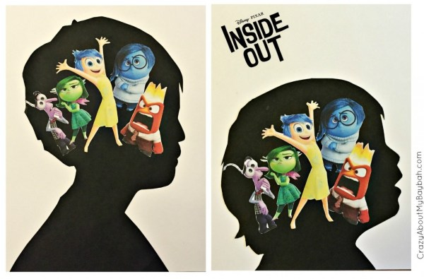 Inside Out Craft | Silhouette Craft for Kids