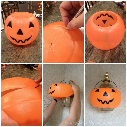Pumpkin Light | Easy Halloween Craft #DIY