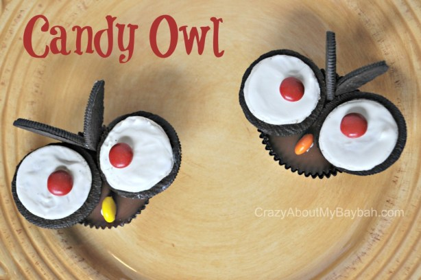 Halloween Treats | Candy Owl Tutorial