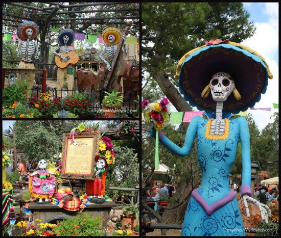 Day of the Dead Disneyland Halloween Time