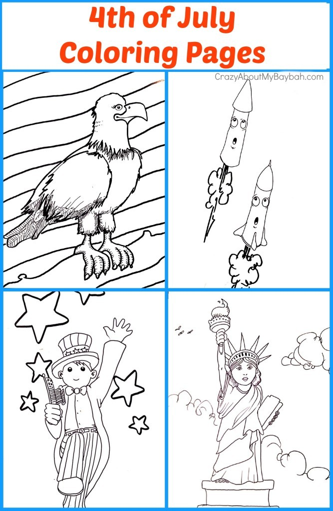 graphic relating to Free Printable 4th of July Coloring Pages identify Free of charge Printable 4th of July Coloring Webpages