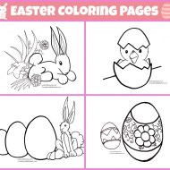 Easter Coloring Pages for Kids | Free Printables