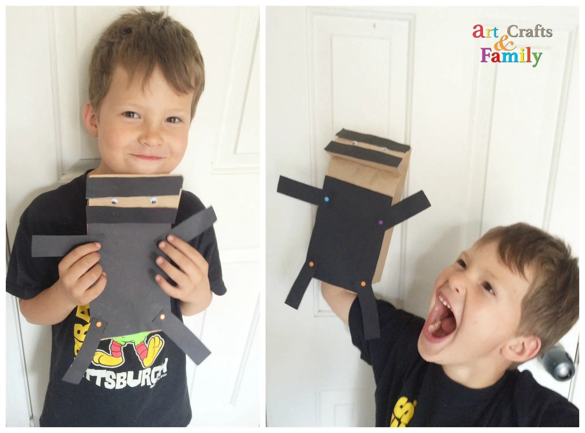 Cute Ninja Craft for Kids