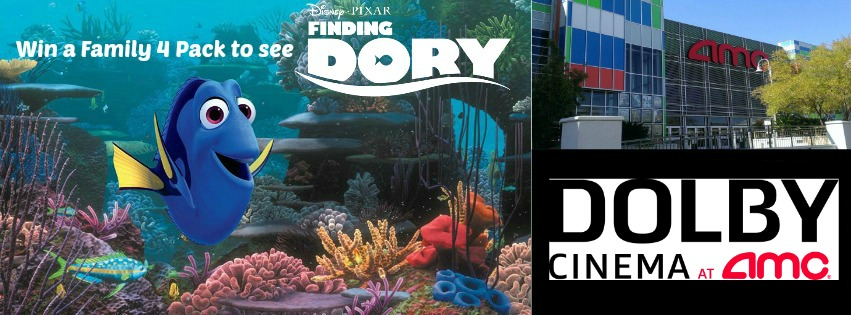 Finding Dory Giveaway At AMC Town Square