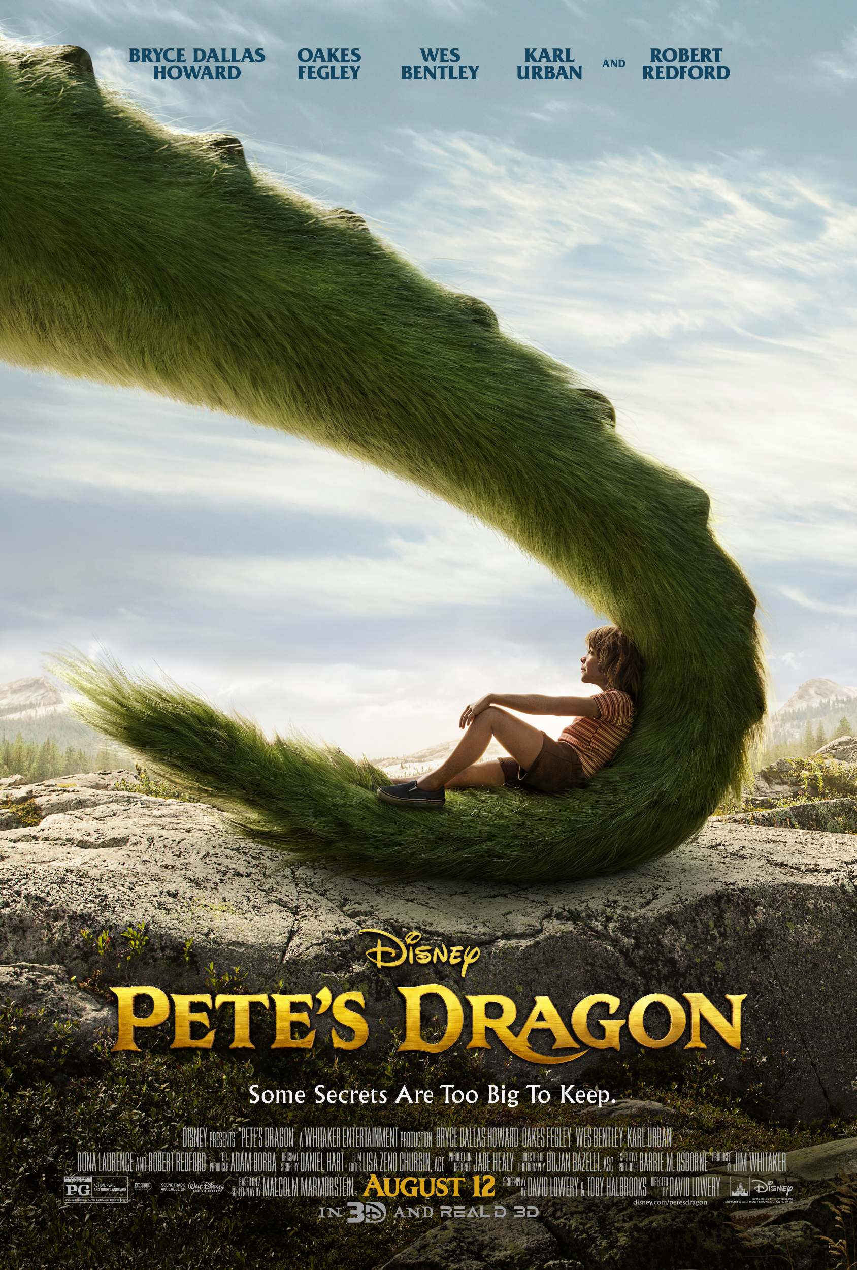 Disney's Petes Dragon Red Carpet Premeire!