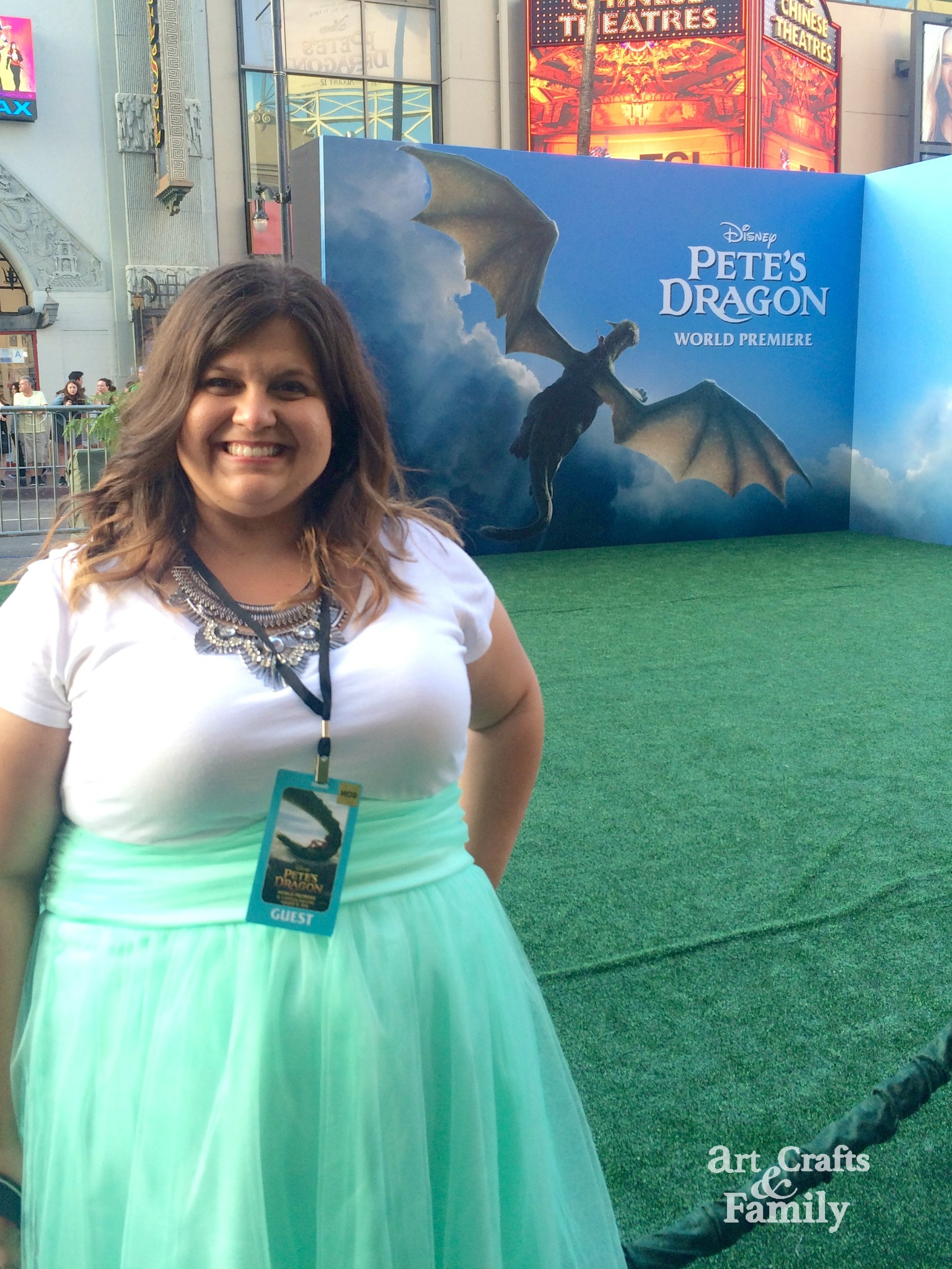 Pete's Dragon Red Carpet Premiere in Hollywood!
