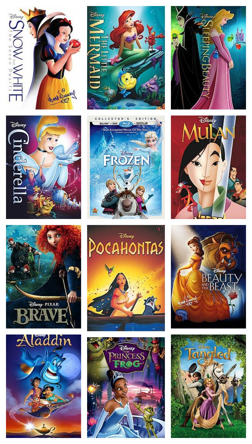 All the Disney Princess Movies Arre Out of the Vault