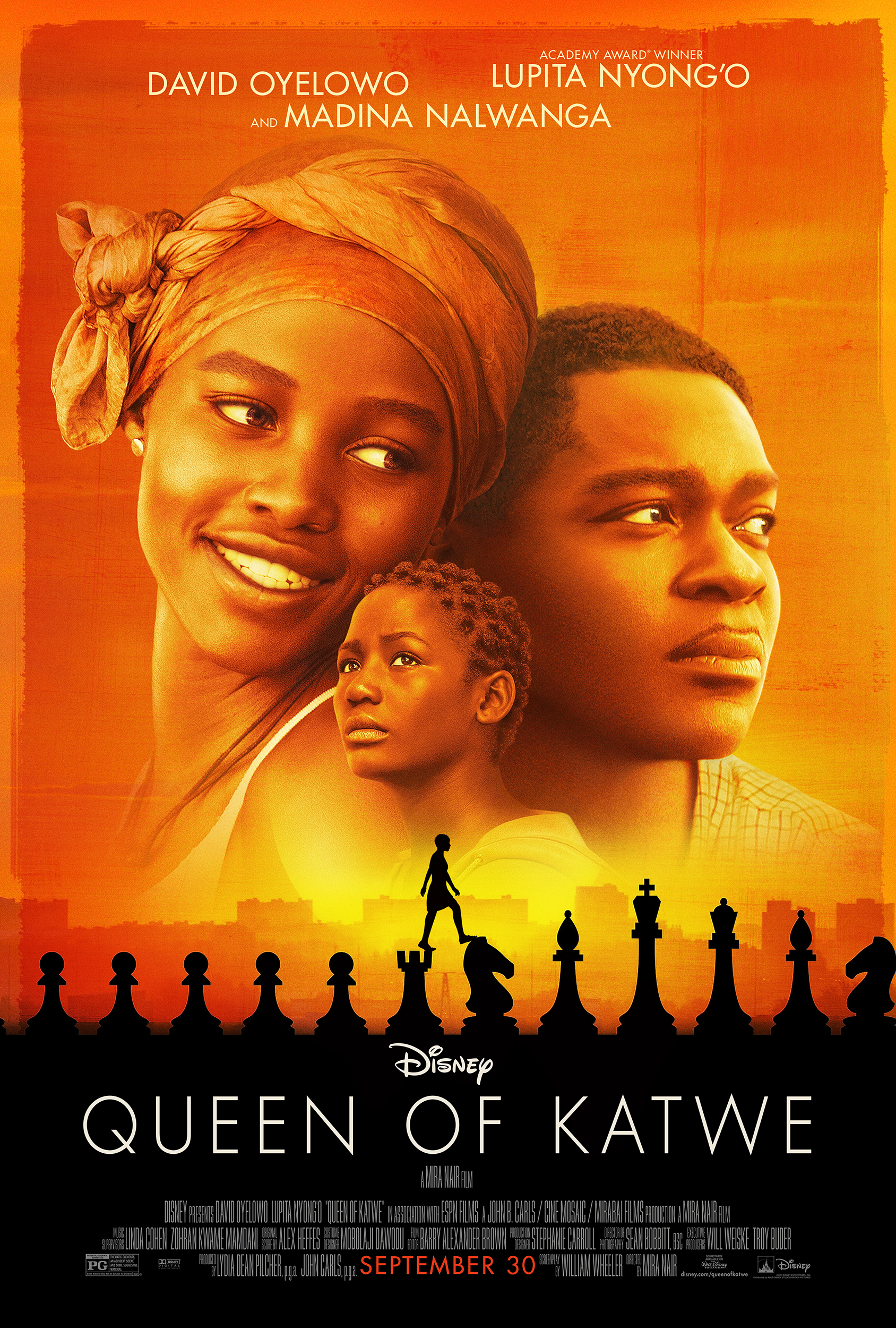 Queen of Katwe was beautiful, empowering, and inspirational.