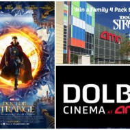 Win a Family 4 Pack to See Doctor Strange | Dolby Cinemas at AMC