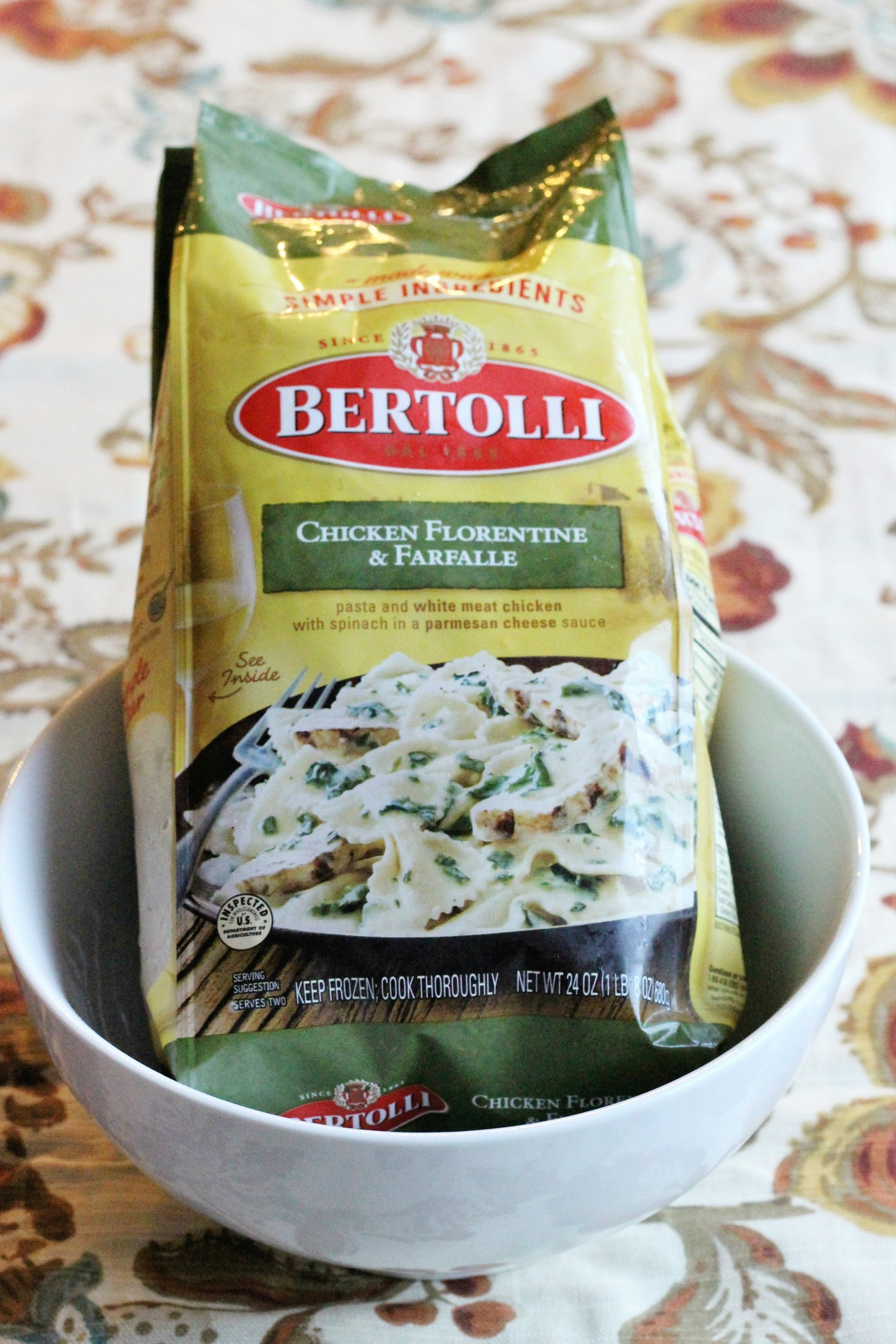 Italian Style Family Meals with Bertolli