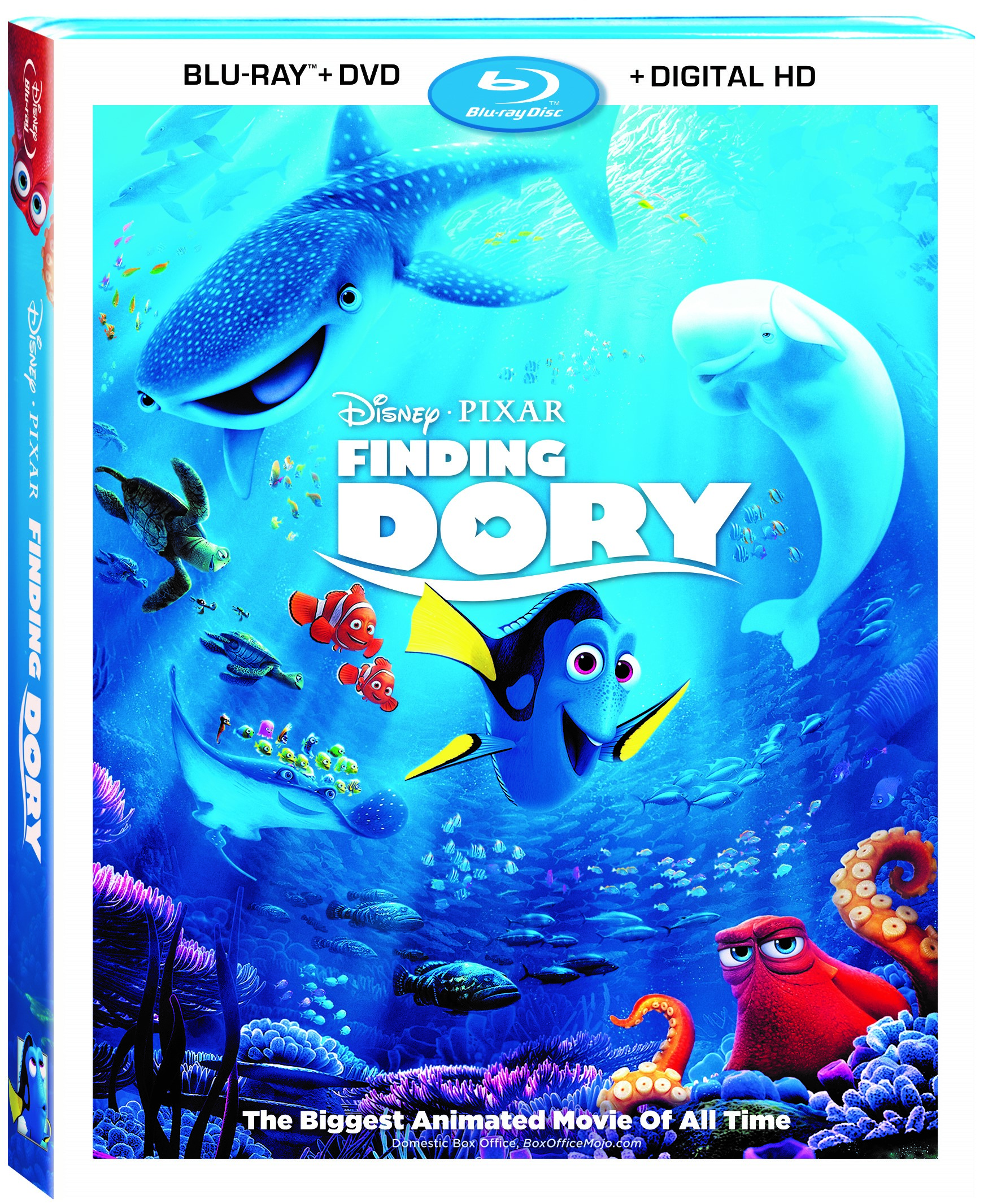 Finding Dory on Blu Ray Makes a Great Stocking Stuffer