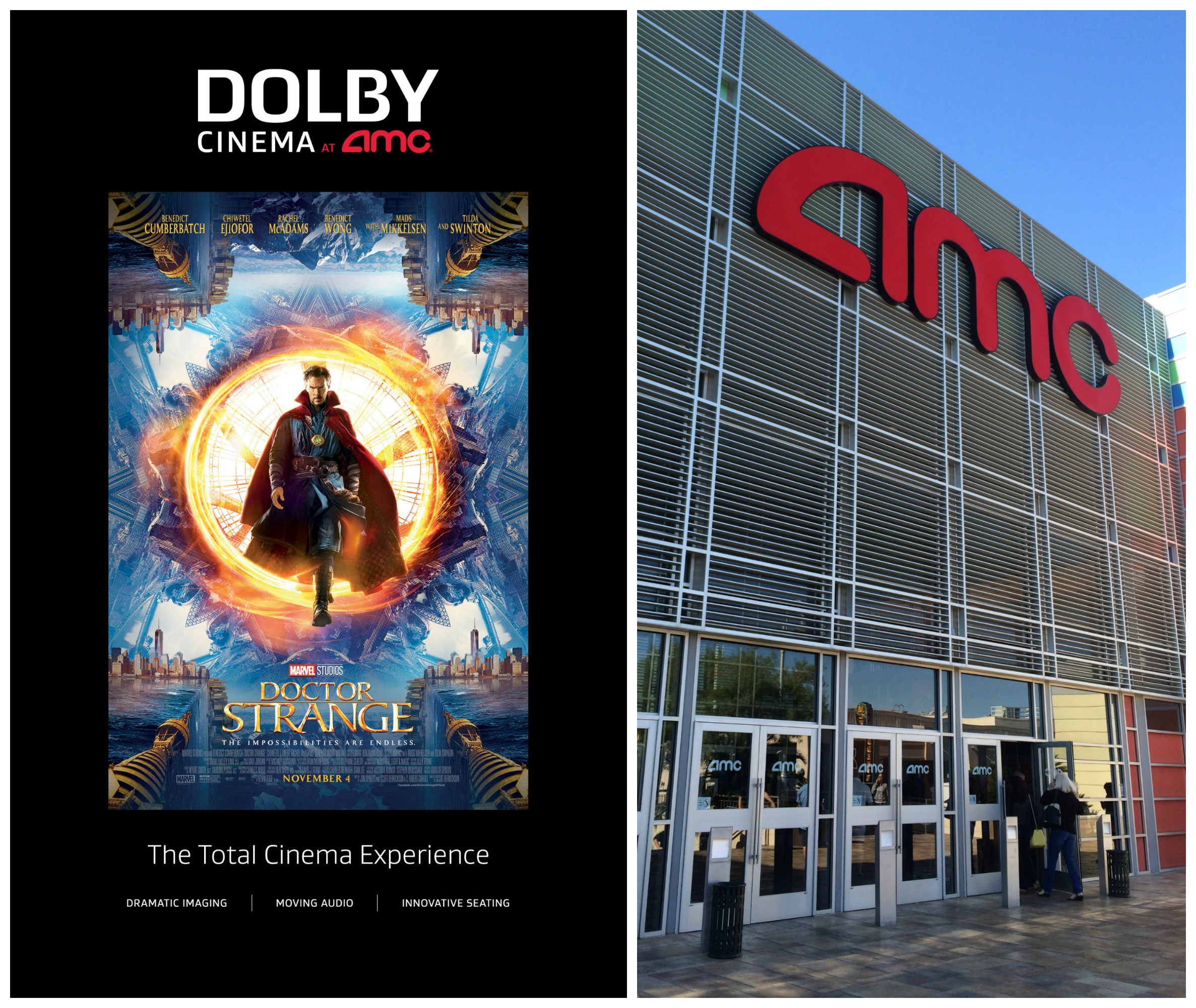Doctor Strange Movie Review in Dolby Cinema at AMC Prime
