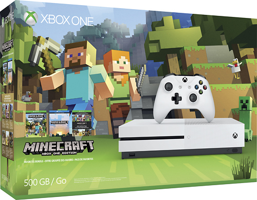 Get the Minecraft Xbox One Bundle, Minecraft Games and More at Best Buy!
