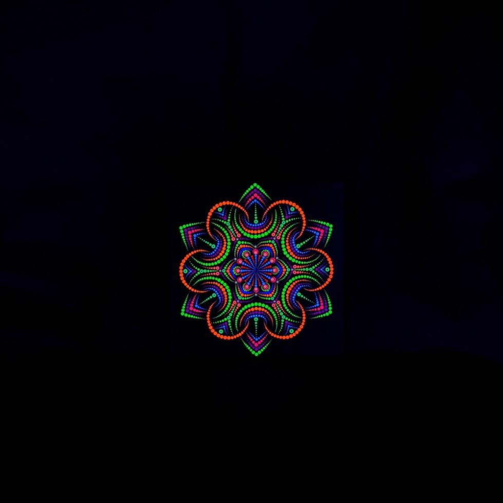 Flower Portal UV Dot Painting