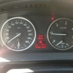 BMW 520D (E61 2009) funkcje komfortowe i wskaźnik prędkości KOMBI