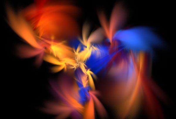1 dielny abstraktny obraz