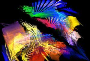 1 dielny obraz abstraktny obraz