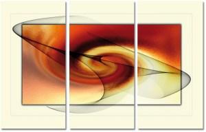 o abstraktnom umení 3 dielny obraz