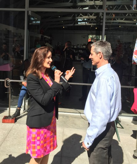 Libby Schaaf and Howard Flax
