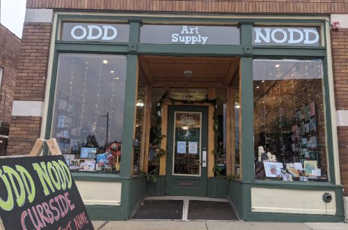 Odd Nodd Art Supply's new storefront!