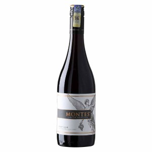 Montes Limited Selection Pinot Noir from Chile, ruby red colour, sour cherry and fresh strawberry, floral on nose, fresh, fruity, rounded tannins.