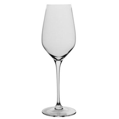 Spiegelau Superiore White Wine Glass. Volume: 500ml. Height: 26cm. Diameter: 6cm. Brand: Spiegelau, Germany. Material: Crystal