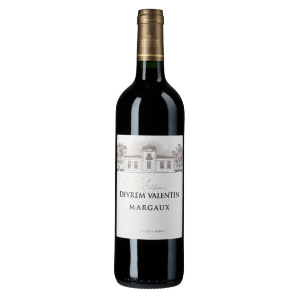 Chateau Deyrem Valentin. Finesse and delicacy, with a garnet robe, red and dark fruit notes, and slightly spicy.
