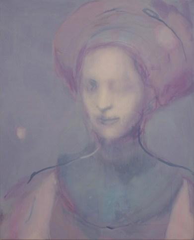 SATURNO Alessandro, Sopire il tempo, 2015, Acrilico e olio su tela, cm 100x80