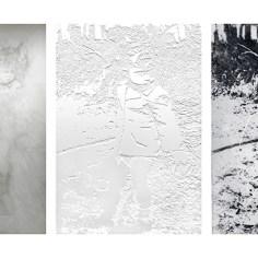 Maria Marilena De Stefano, Grand Hotel (dalla serie Castroreale Terme), 2009-2016, tecnica mista (acquaforte, acquatinta, taccheggio, goffratura + disegno a matita su carta washi), cm 90x100