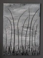 Frasche nella nebbia, 2016, cm 50x70, mista materica