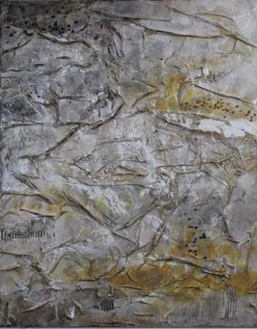 Horizons 15, 2017, cm 100x80 x4, mista materica